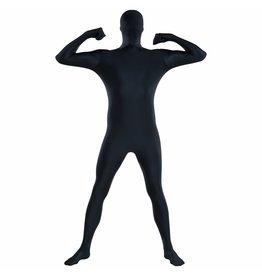 """Adult Costume Black Partysuit™ -Medium (up to 5' 4"""")"""