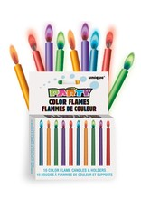 Color Flame Candles (10)