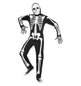 Men's Costume X-Ray Skeleton - Standard (Glow in the dark)