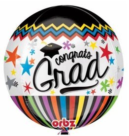 "Congrats Grad 22"" Bubble Balloon"