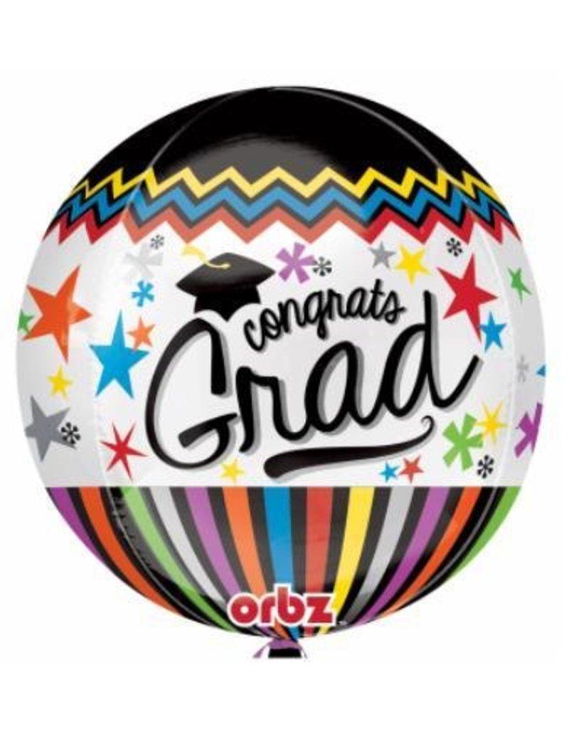 """Congrats Grad 22"""" Bubble Balloon"""