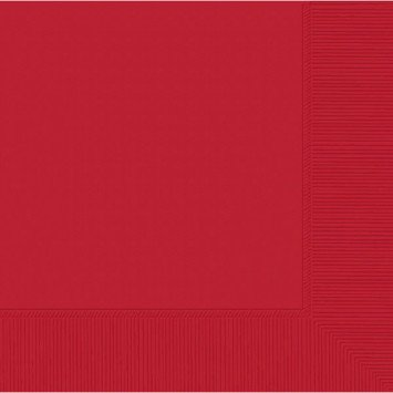 Apple Red Lunch Napkins (50)