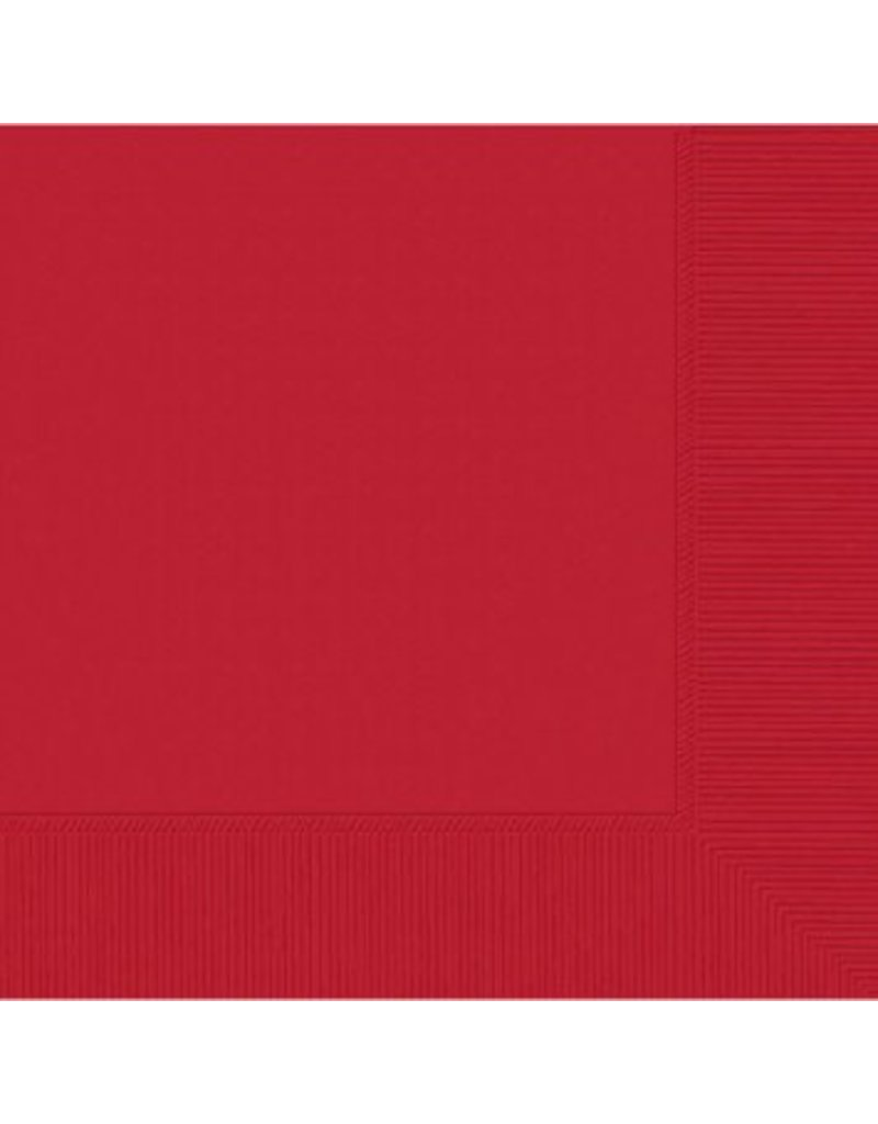 Apple Red Dinner Napkins (20)
