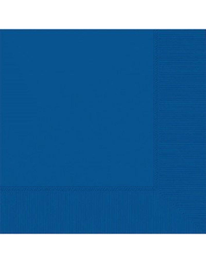 Bright Royal Blue Beverage Napkins (50)