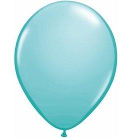 "5"" Balloon Caribbean Blue  1 Dozen Flat"