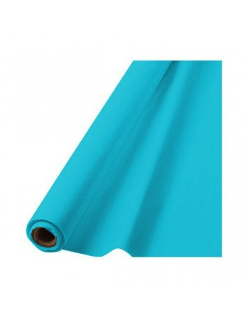 """Caribbean Blue Solid Table Roll, 40"""" x 100'"""