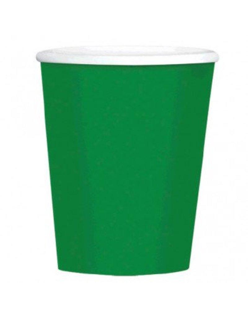 Festive Green 9oz Paper Cup (8)
