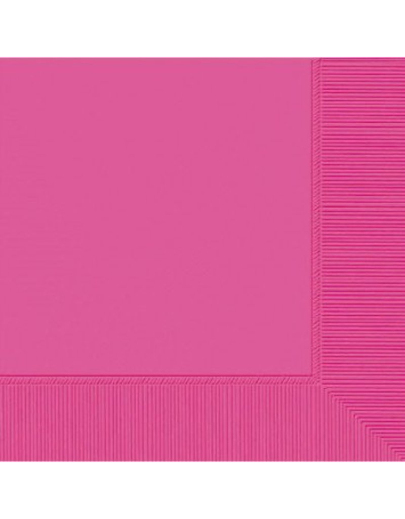 Bright Pink Dinner Napkins (20)