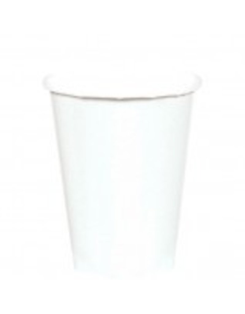 Frosty White 9oz Paper Cup (8)