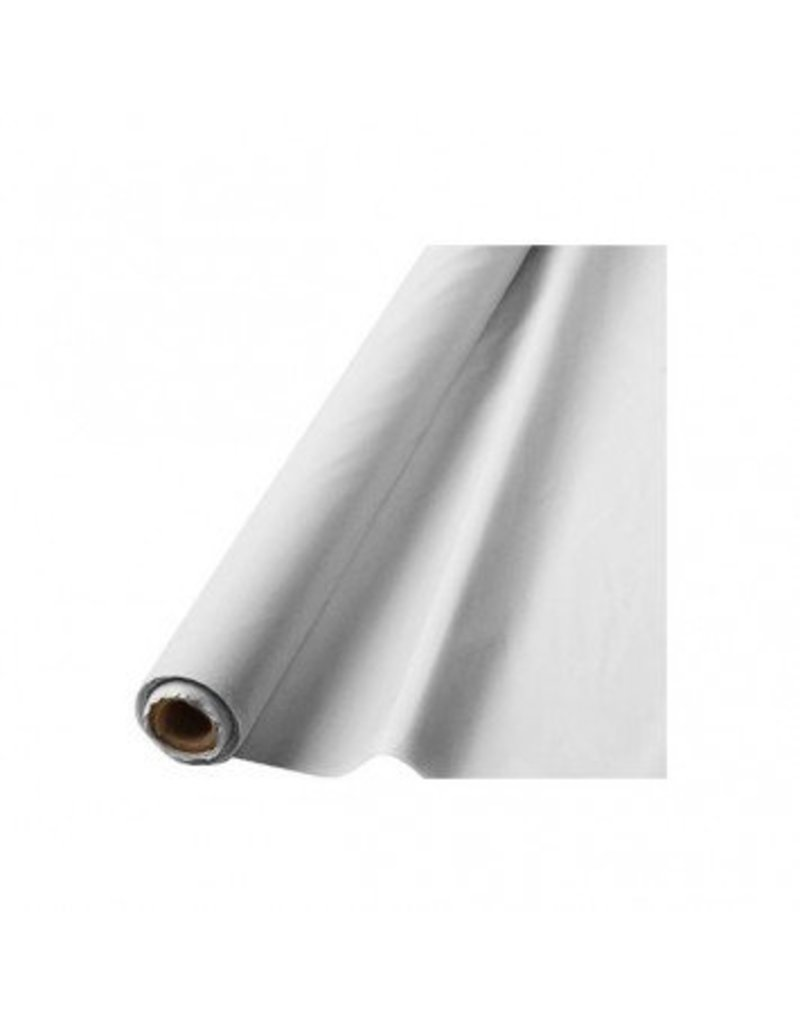 """Frosty White Solid Table Roll, 40"""" x 100'"""