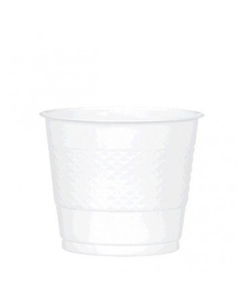 Frosty White 9oz Plastic Cup (20)
