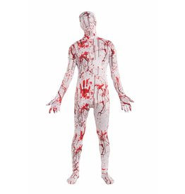 Teen Costume Disappear Man Bloody Body Suit