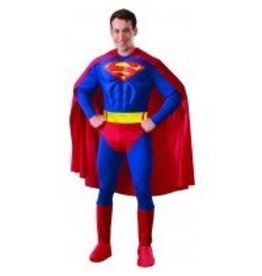 Men's Costume Superman With Muscles Small