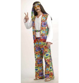 Men's Costume Hippie Dippie Man Standard