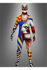 Morphsuit Scary Monster Clown Medium