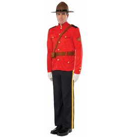 Men's Costume Mountie Standard Size