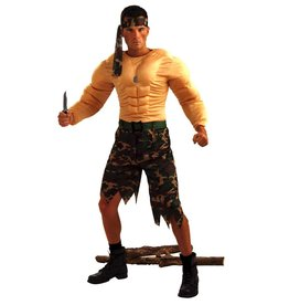 Men's Costume Jungle Commando Costume
