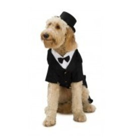 Dog Costume Dapper Dog Small