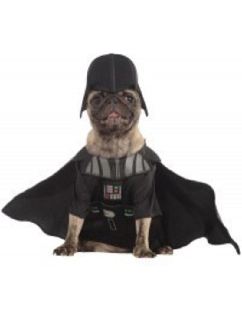 Dog Costume Darth Vader Large