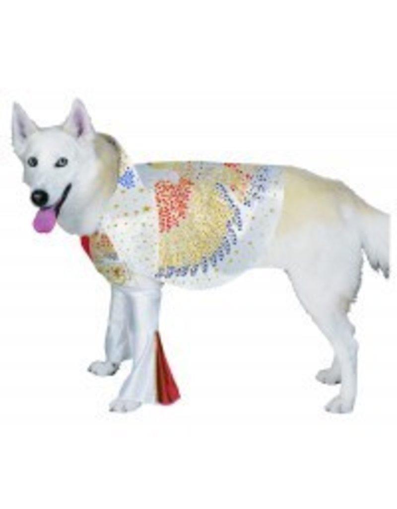 Dog Costume Elvis Small