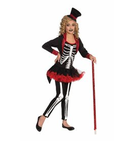 Children's Costume Miss Bone Jangles Large