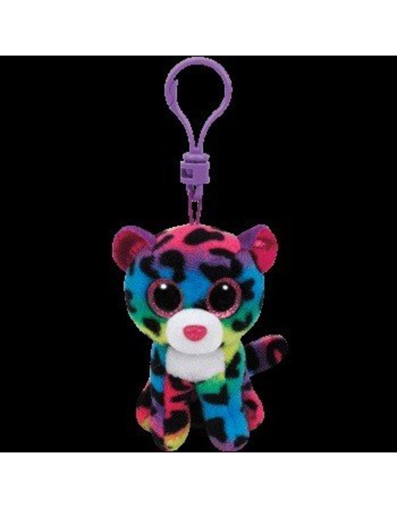 Beanie Boos Leopard Dotty Keychain