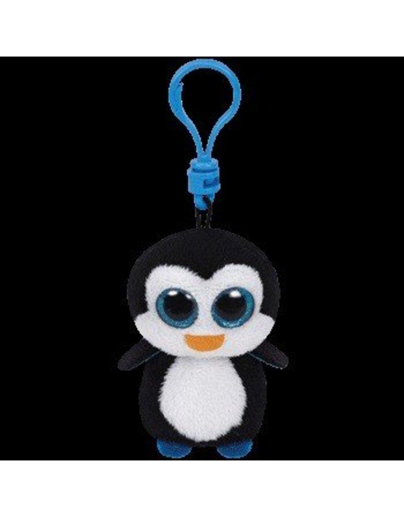Beanie Boos Penguin Waddles Keychain