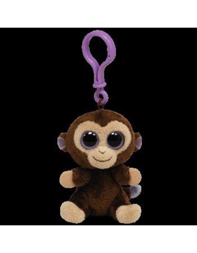 Beanie Boos Monkey Coconut Keychain