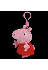 Beanie Boos Peppa Pig Keychain