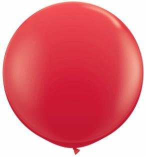 """36"""" Balloons Red Flat"""