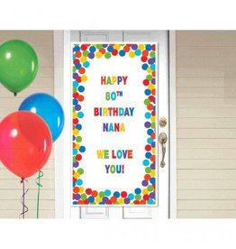 Rainbow Customizable Door Decorating Kit
