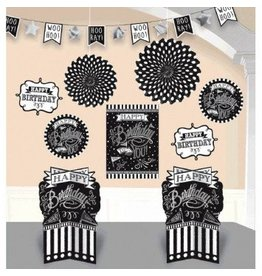 Chalkboard Birthday Room Decorating Kit