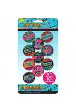 80's Buttons