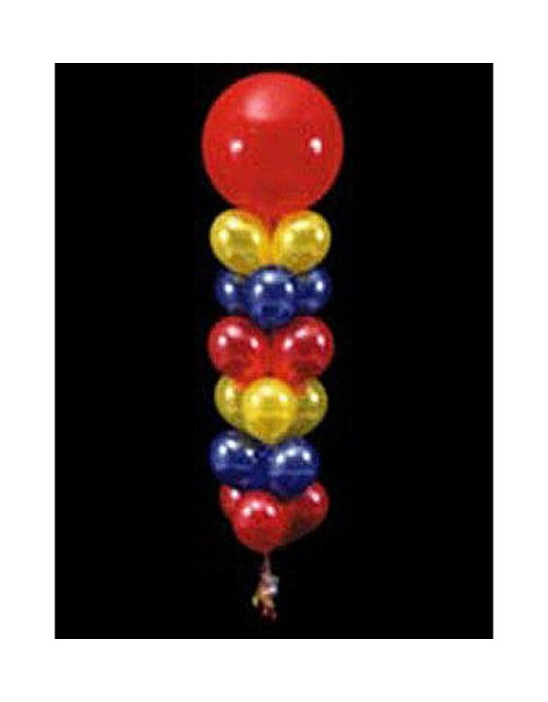 18 Balloons to a Weight Not-Treated