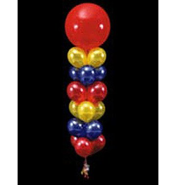 24 Balloons to a Weight Not-Treated