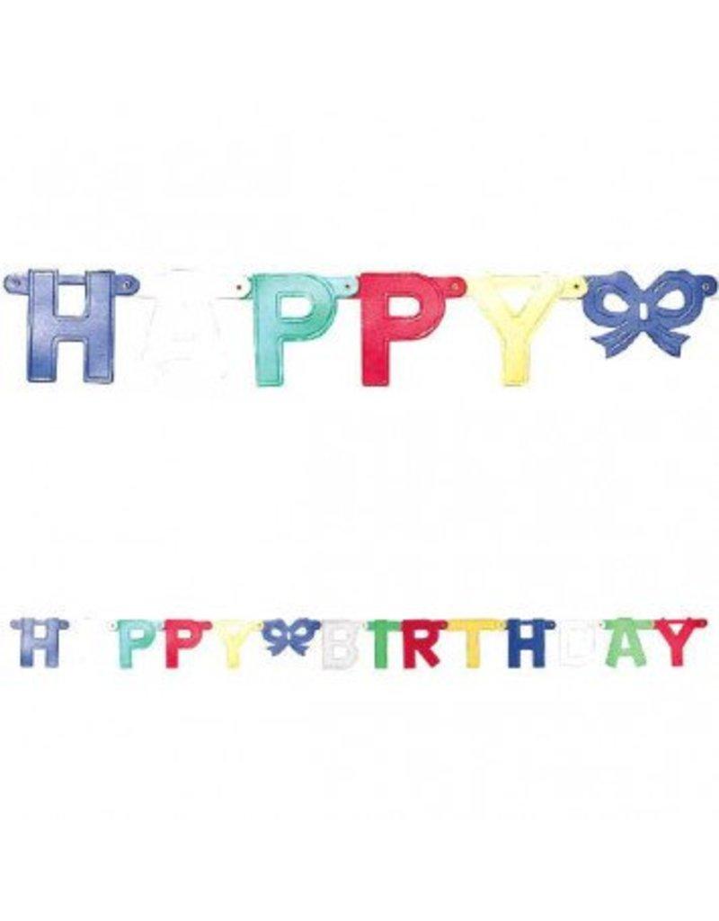 Foil Birthday Banner