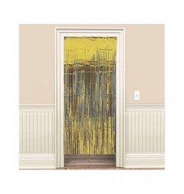 Gold Metallic Door Curtain