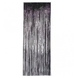 Black Metallic Door Curtain