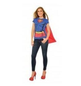 Women's T-shirt Supergirl Large