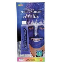 Blue Cream Makeup Tube