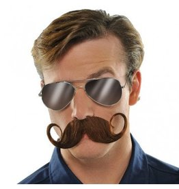 Handle Bar Brown Moustache