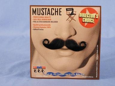 Barbershop Brown Moustache