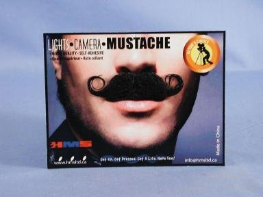 Barbershop Grey Moustache