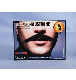 Monsieur Black Moustache