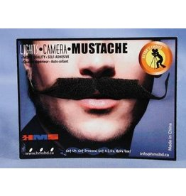 Ambassador Moustache Grey