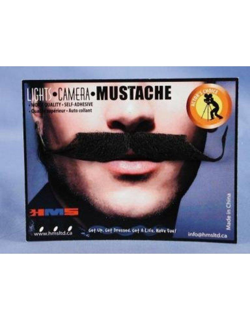Ambassador Moustache Grey