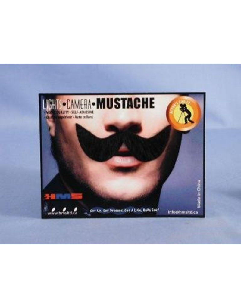 Elegant Brown Moustache