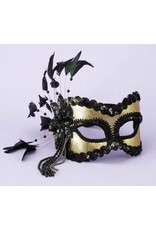 Black/Gold Mask