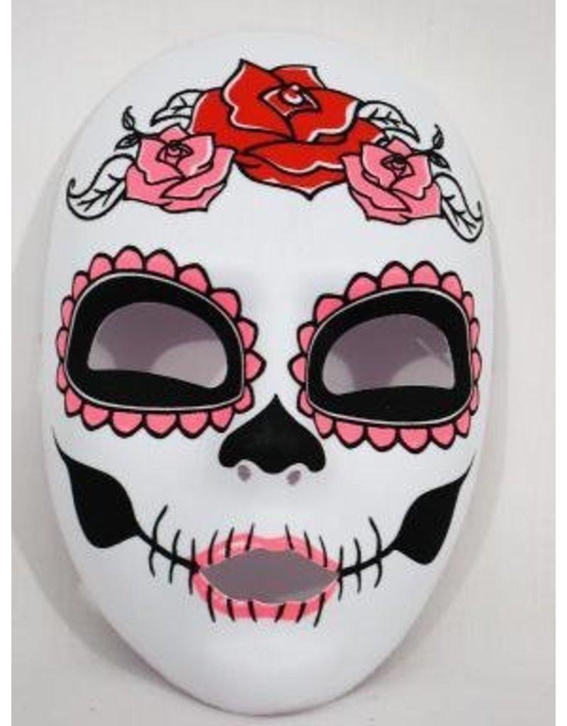 Day Of The Dead Full Face Female Mask