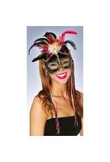 Fabric Bird Of Paradise Mask